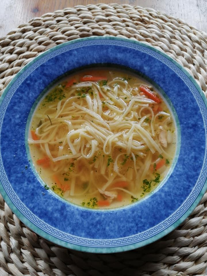 neděle 31.5.2020 - nudlová polévka